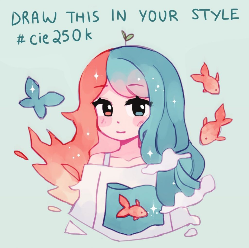 Acatcie original draw this in your style challenge