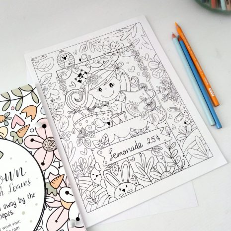 Blooming Coloring Book (4)