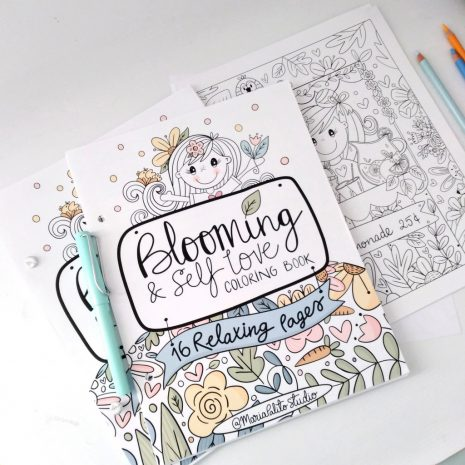 Blooming Coloring Book (5)