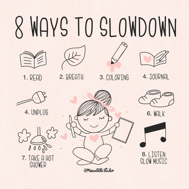 8 Easy ways to Slow Down after a Busy Day -   I have to confess that I have suffered from anxiety for years. I have woken up before the sun rises with a feeling of not being able to breathe; and that everything is wrong without something happening.
