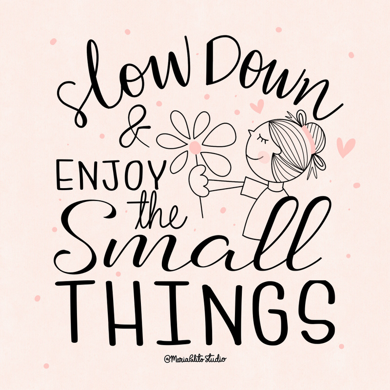 Slow Down and Enjoy the small things | 8 ways to slowdown after a busy day.