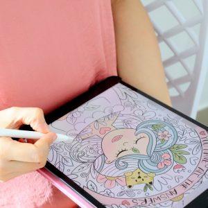 Self Love Digital Coloring Book for Ipad or Tablet