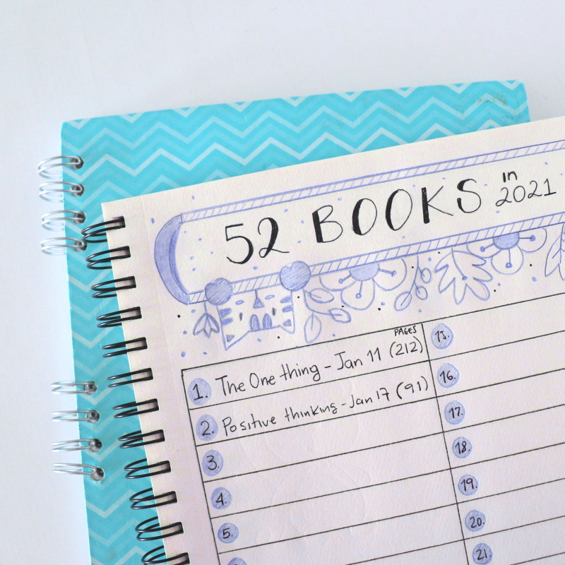 Reading Journal Tracker. Stop underestimating the power of building good habits. Making changes and building good habits is a skill that is learned by doing. It's not just about setting goals, it's about actually meeting them. Learn more about Habit Building and how simplify the process to achieve what you want.