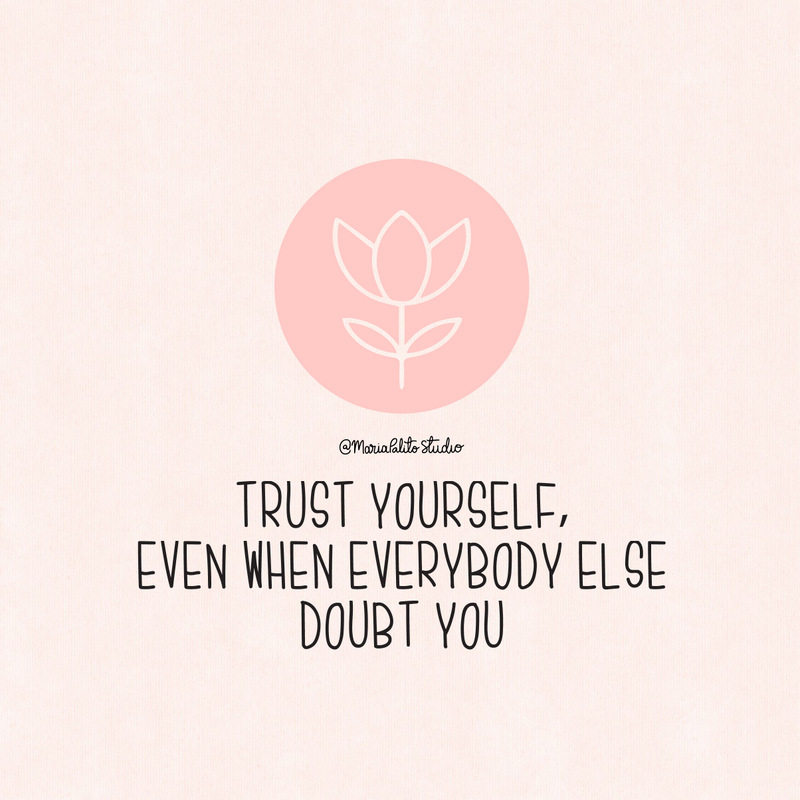 Trust yourself when everybody else doubt you. Stop underestimating the power of building good habits. Making changes and building good habits is a skill that is learned by doing. It's not just about setting goals, it's about actually meeting them. Learn more about Habit Building and how simplify the process to achieve what you want.