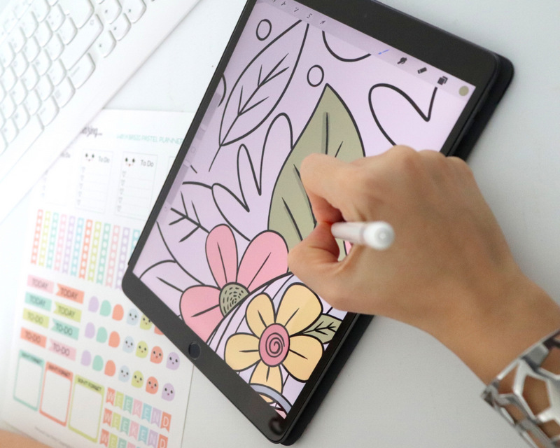 8 Easy Ways to Slow Down - 10 minutes of coloring has the same effect of meditation. There is something magical about coloring and doing creative activities.